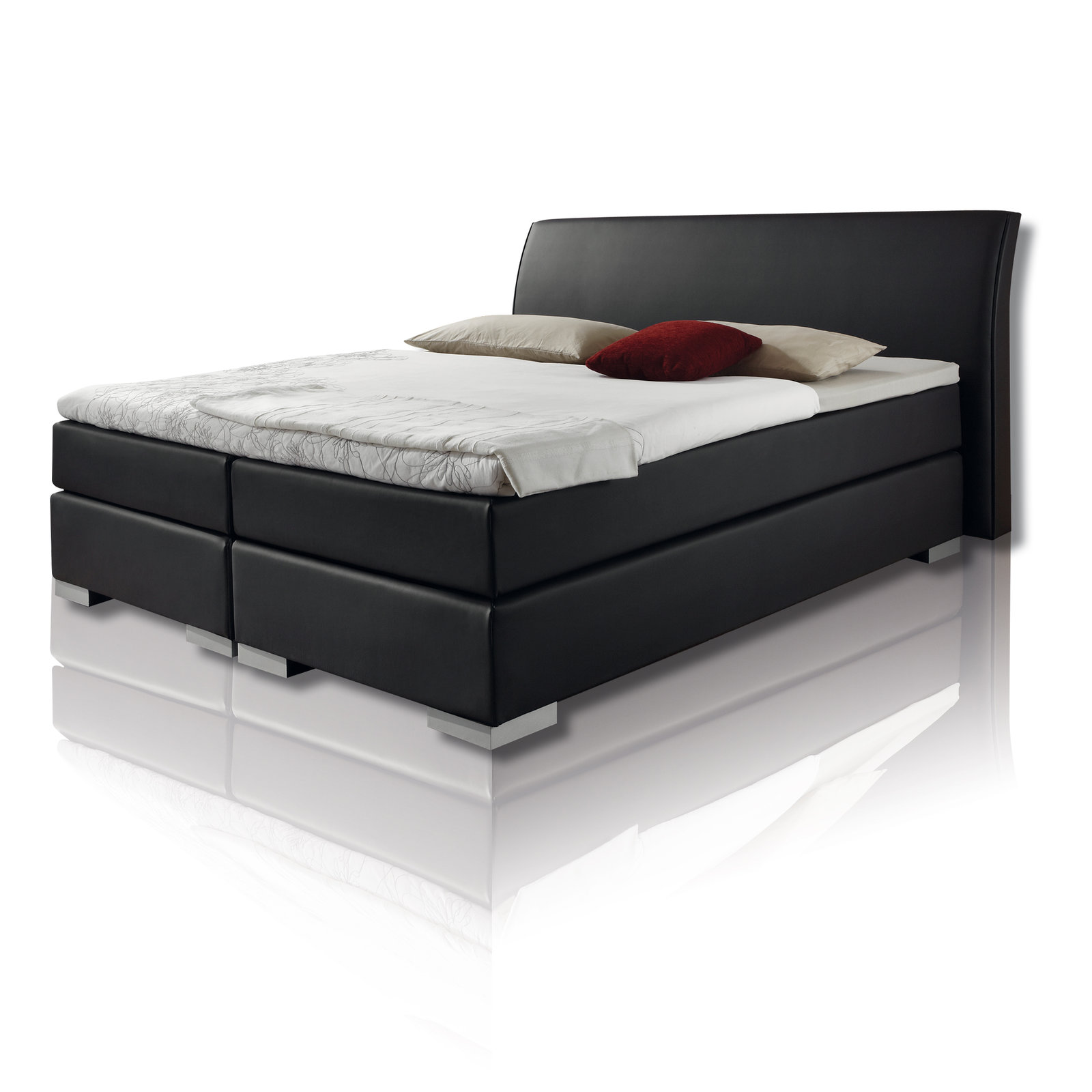 26 sparen boxspringbett prisma 180x200cm nur 666 00. Black Bedroom Furniture Sets. Home Design Ideas
