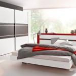 Schlafzimmer-Set 4-teilig von RAUCH in weiß/lavagrau – nur 369,99€