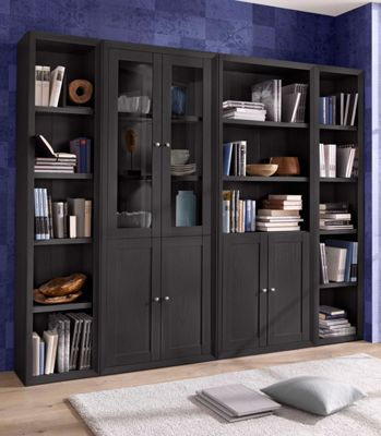 wohnwand im klassischen landhausstil 7 tlg nur 799 99 cherry m bel quelle. Black Bedroom Furniture Sets. Home Design Ideas