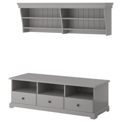 tv möbel liatorp in grau von IKEA