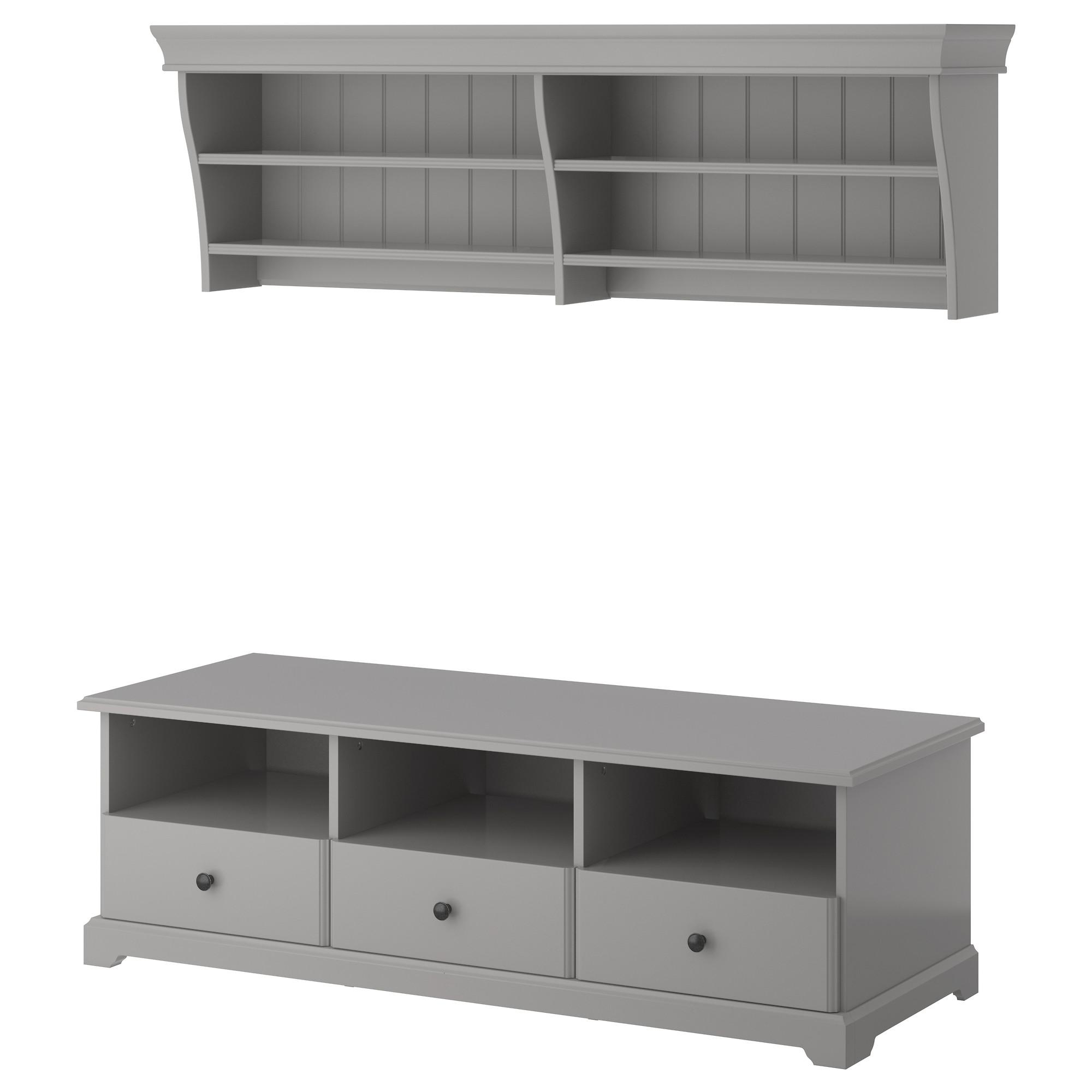 tv m bel liatorp in wei und grau nur 298 00 cherry m bel ikea. Black Bedroom Furniture Sets. Home Design Ideas