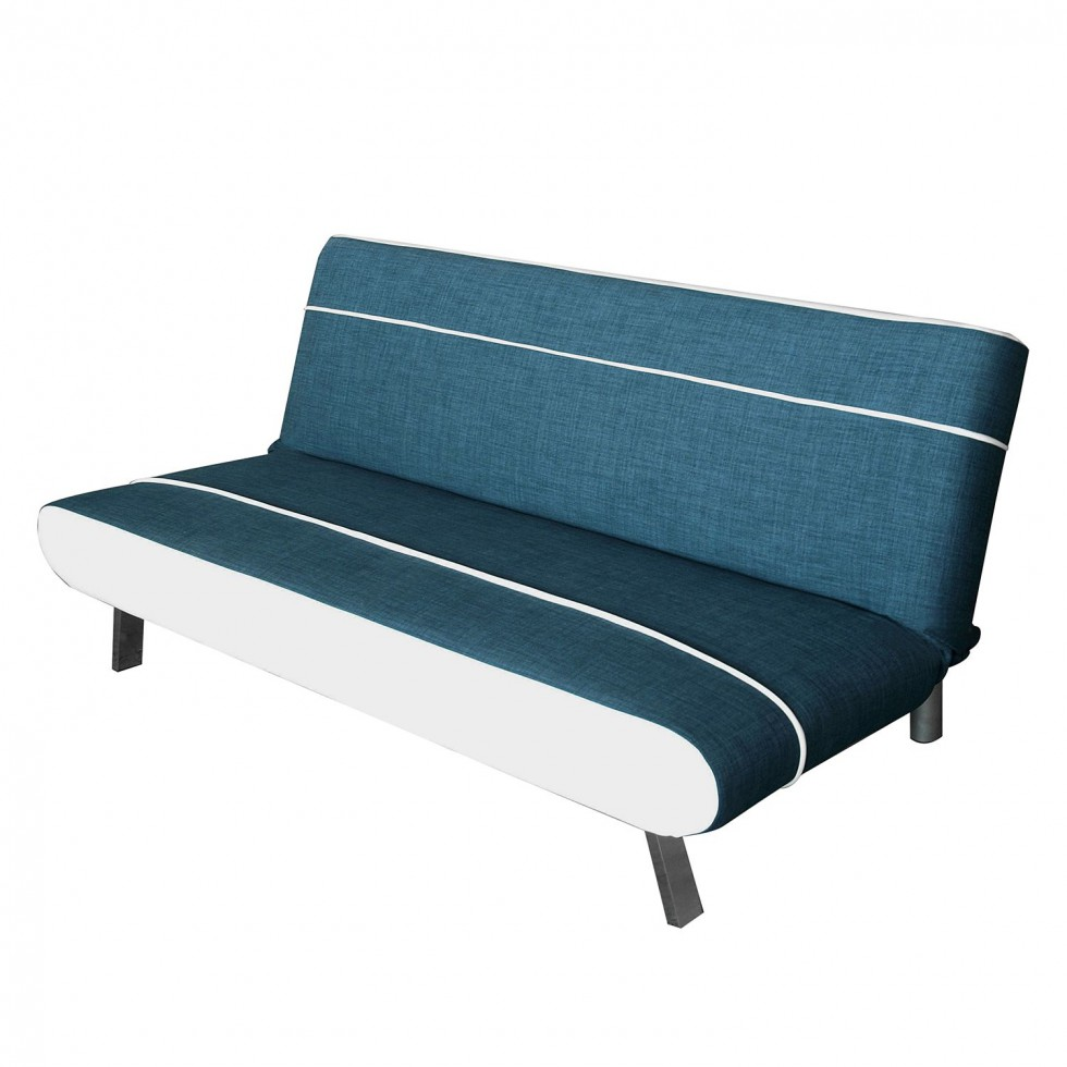 schlafsofa wabasso webstoff kunstleder blau-weiss von moeved günstig schnäppchen schlafsofa modernes design