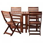 Gartentisch-Set ÄPPLARÖ von IKEA 5-teilig – nur 198,96€