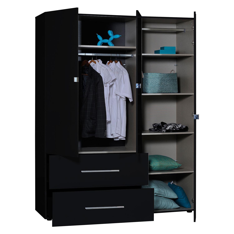 kleiderschrank first von s c i a e in schwarz nur 579. Black Bedroom Furniture Sets. Home Design Ideas
