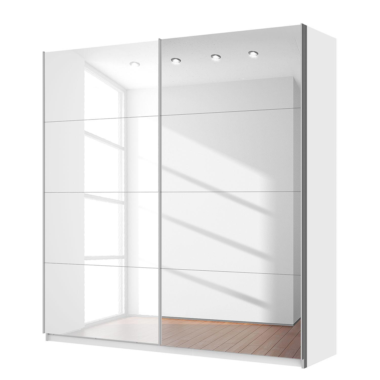 10 sparen schwebet renschrank quadra von rauch mit spiegel 226 cm breit nur 449 99. Black Bedroom Furniture Sets. Home Design Ideas