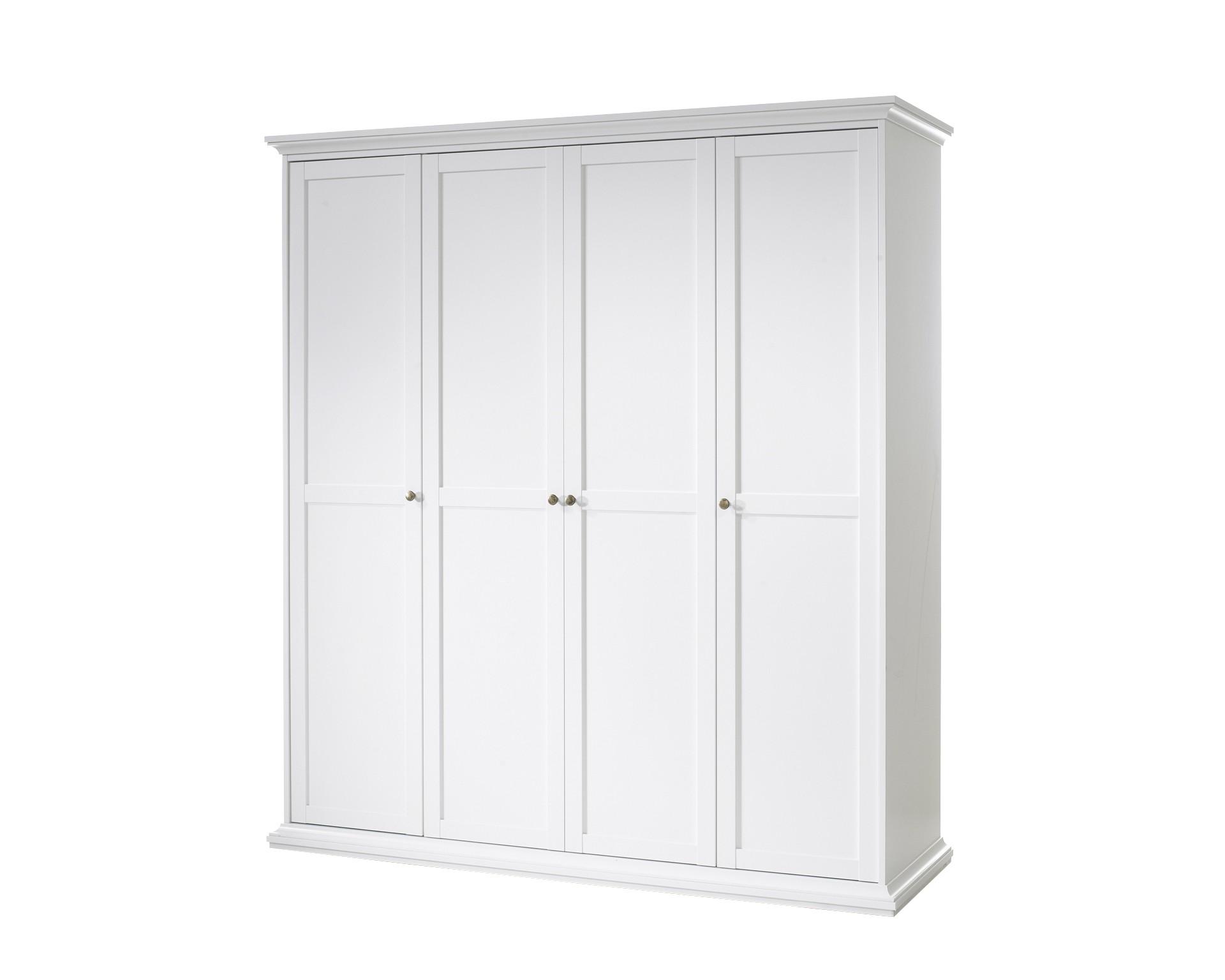6 sparen kleiderschrank pariso wei nur 399 95. Black Bedroom Furniture Sets. Home Design Ideas