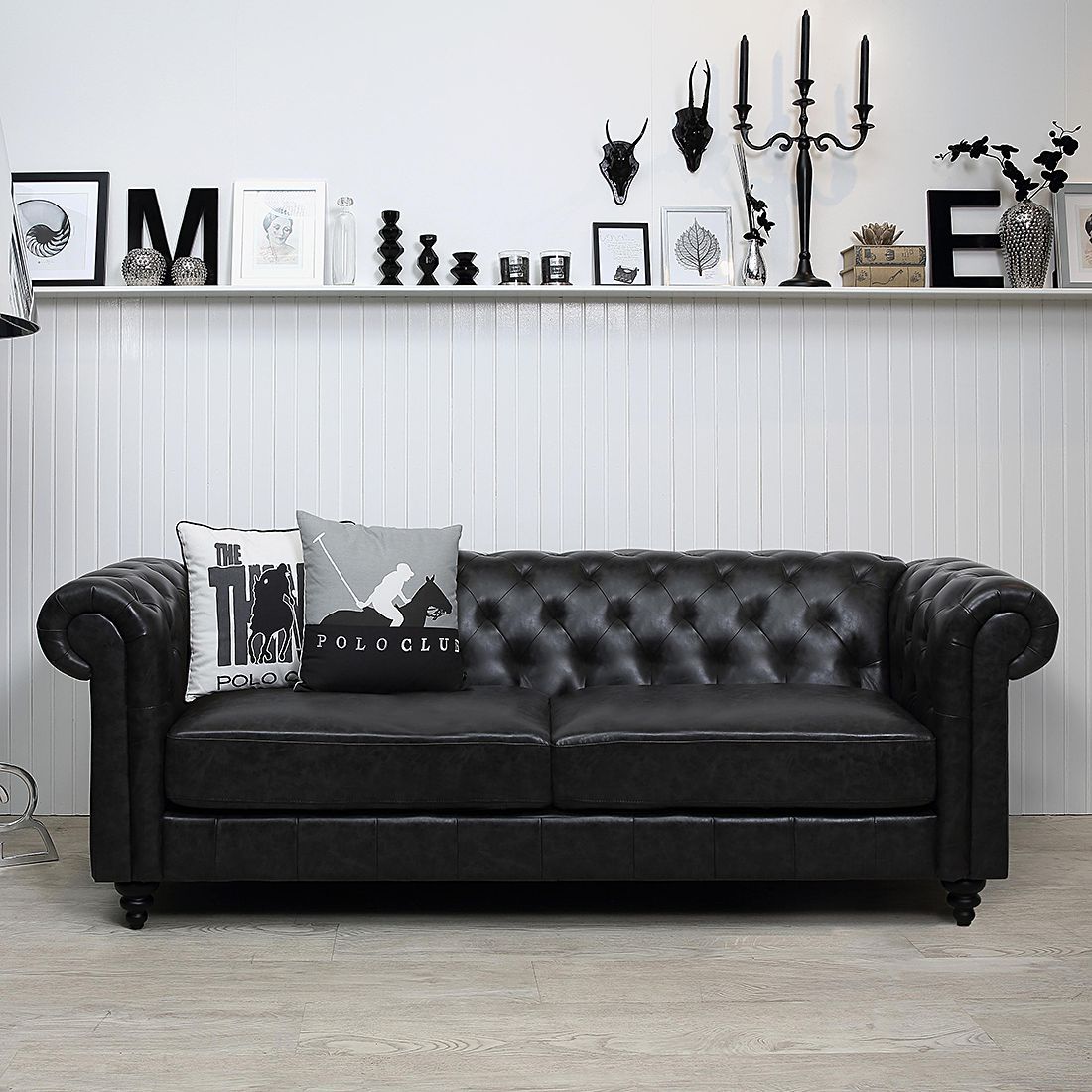 12 sparen chesterfieldsofa charly von furnlab in schwarz nur 699 99 cherry m bel. Black Bedroom Furniture Sets. Home Design Ideas