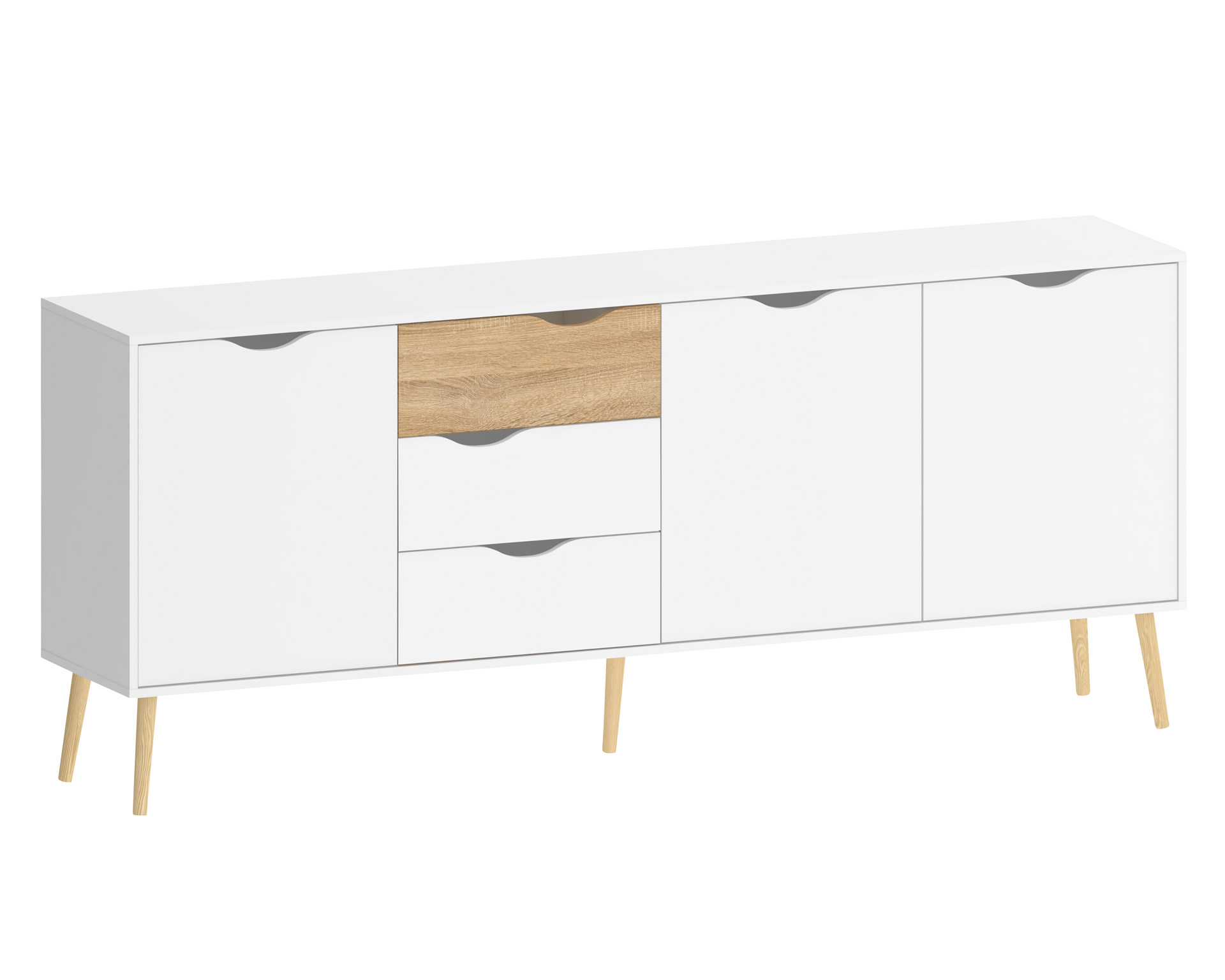 30 sparen kommode delta 3 3 nur 139 95 cherry m bel d nisches bettenlager. Black Bedroom Furniture Sets. Home Design Ideas