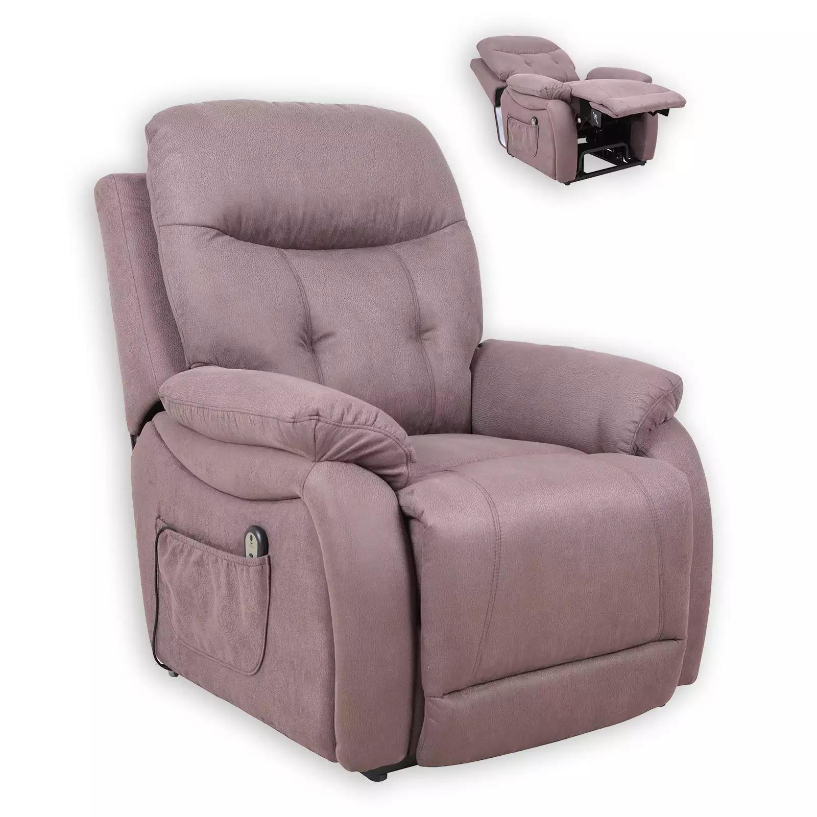 sparen TV Sessel von ROLLER in braun nur 399 99