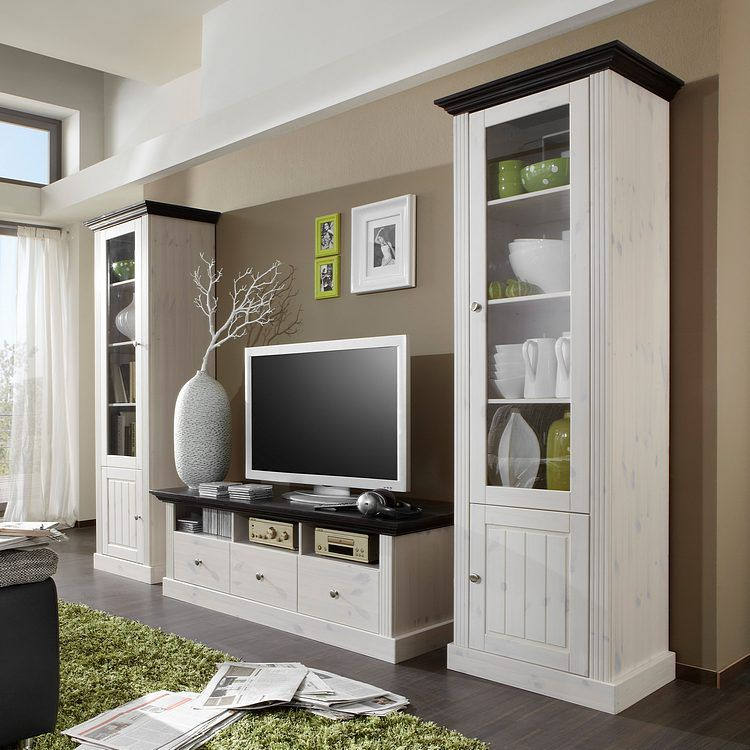 33 sparen wohnwand lyngby von steens 3 teilig in. Black Bedroom Furniture Sets. Home Design Ideas