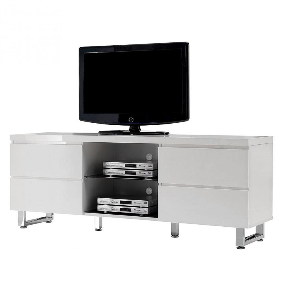 lowboard freelance von roomscape in hochglanz weiß sideboard paddington zum schnäppchenpreis