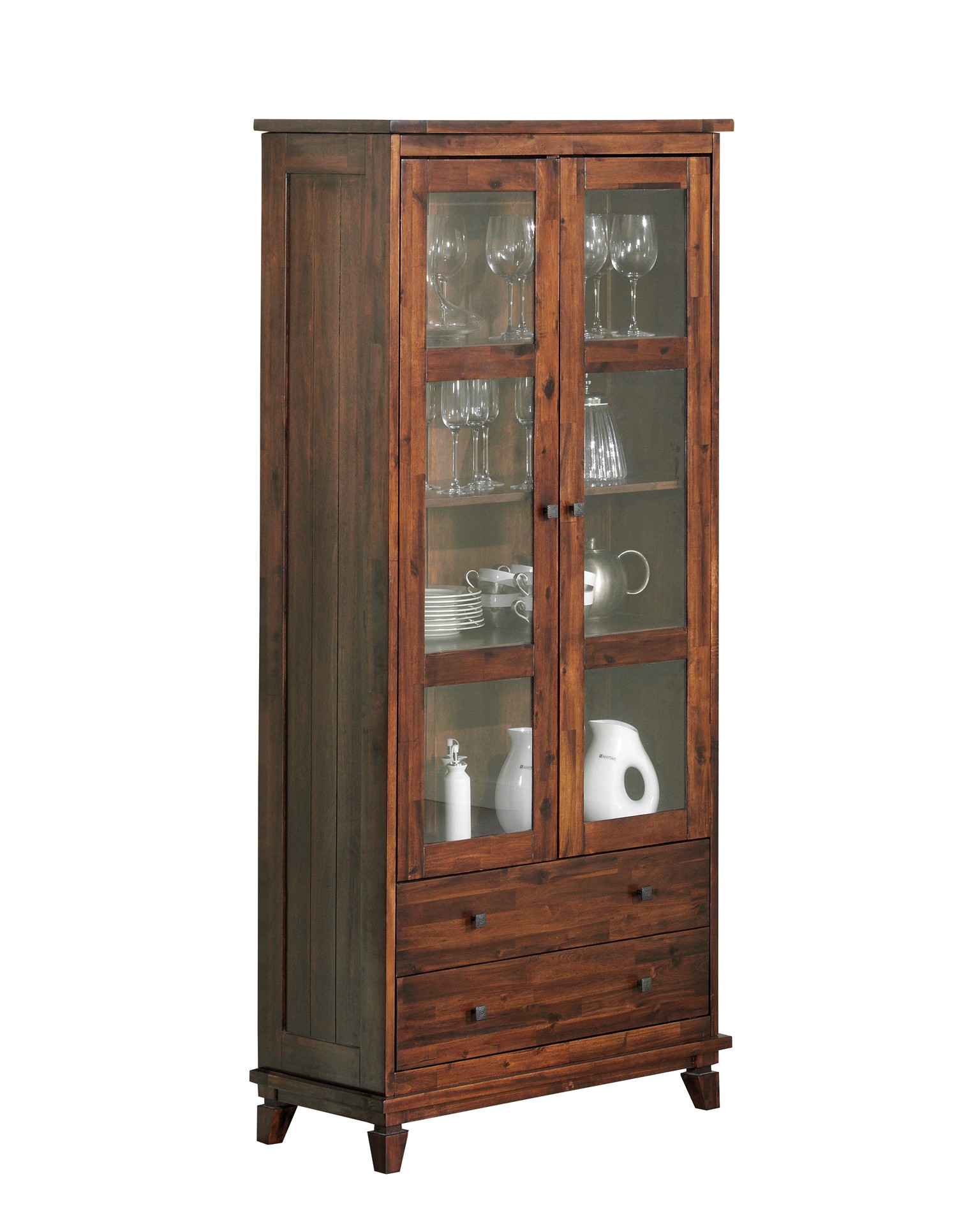 12 sparen vitrine panama nur 349 95 cherry m bel d nisches bettenlager. Black Bedroom Furniture Sets. Home Design Ideas