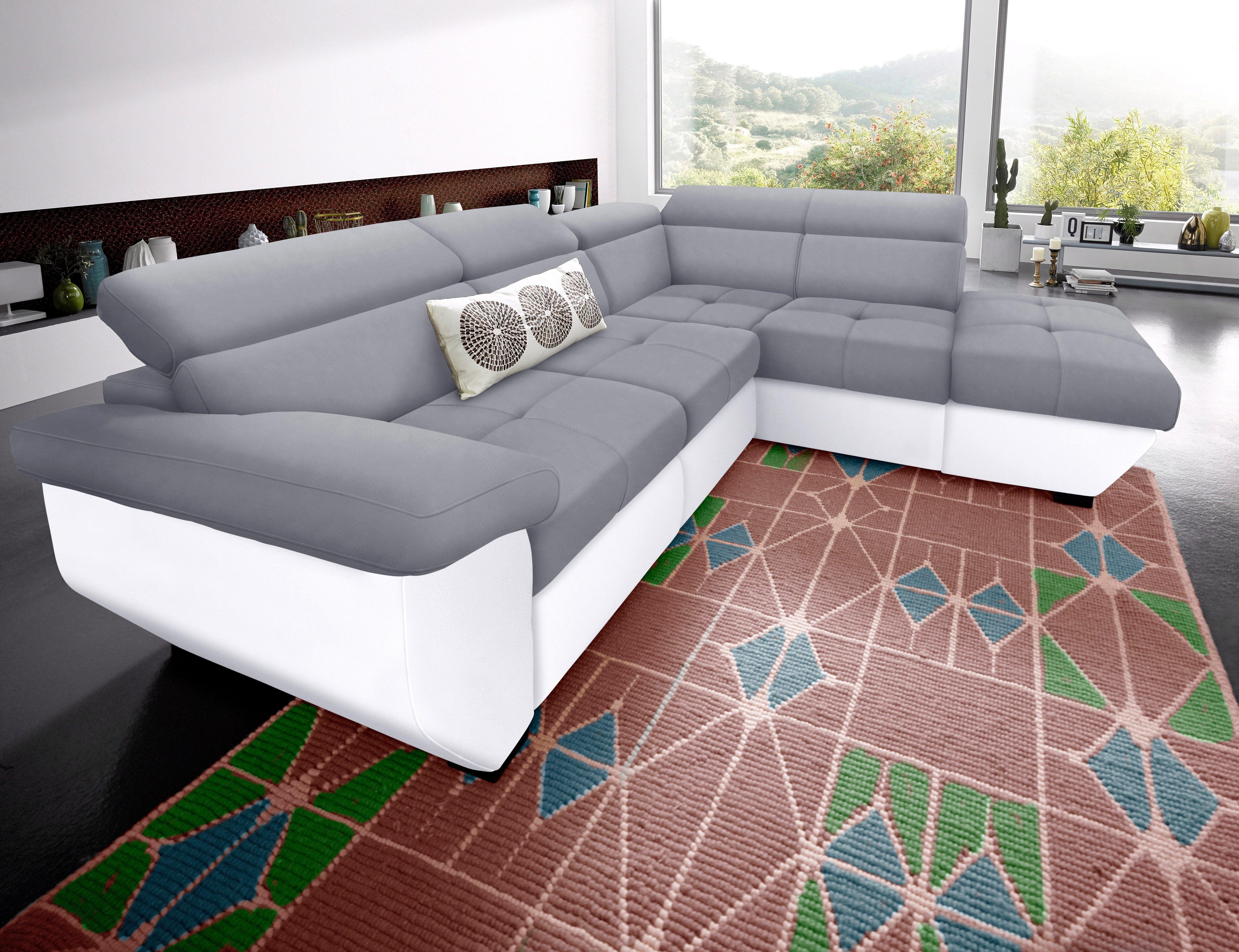 50 sparen cotta polsterecke wahlweise mit bettfunktion. Black Bedroom Furniture Sets. Home Design Ideas