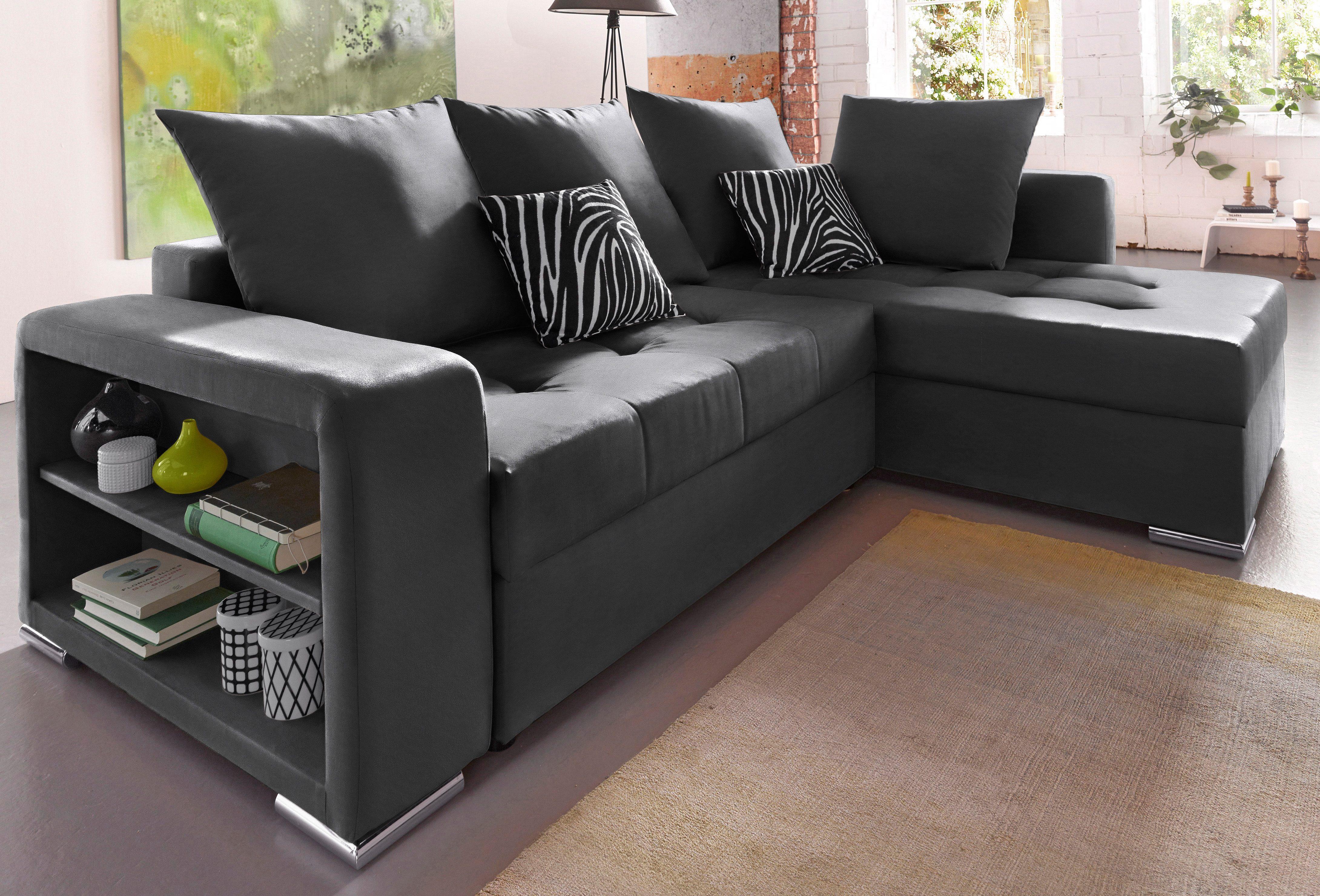 50 sparen polsterecke mit bettfunktion wahlweise mit federkern ab 399 99 cherry m bel. Black Bedroom Furniture Sets. Home Design Ideas