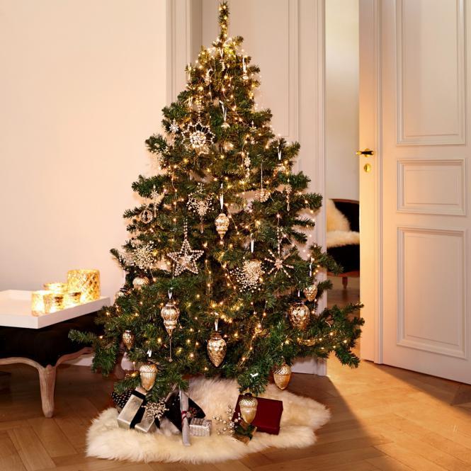 weihnachtsschmuck-set bjouterie von loberon in antiksilber 59 teilig zum schnäppchenpreis