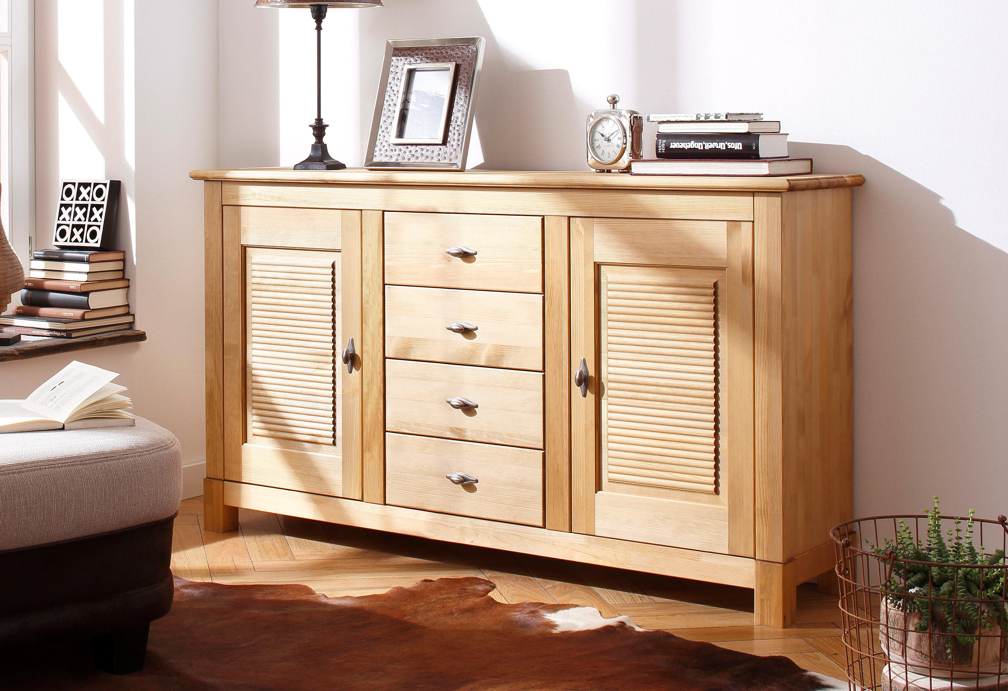 31 sparen sideboard rauna von home affaire ab 249 99 cherry m bel otto. Black Bedroom Furniture Sets. Home Design Ideas