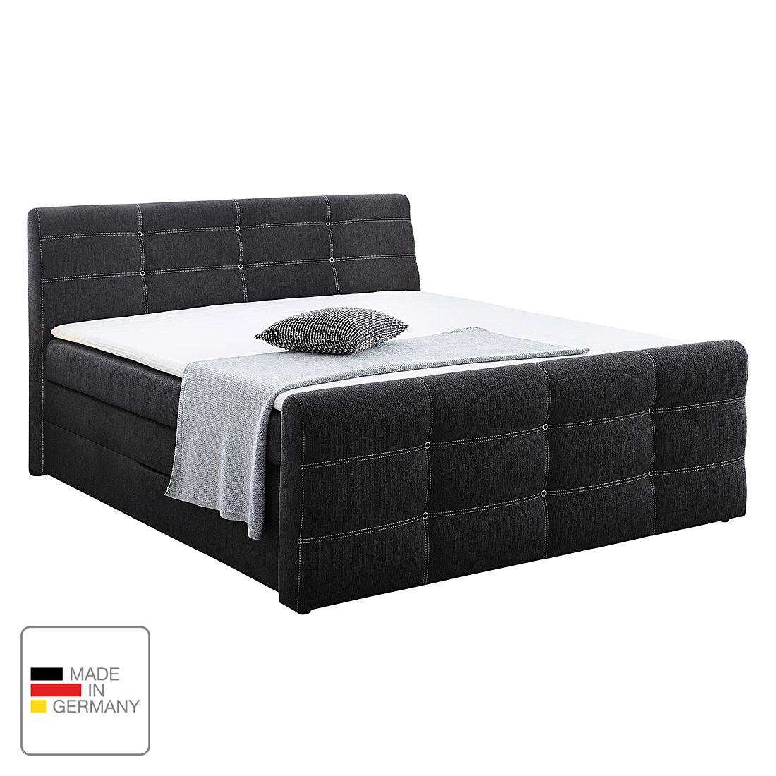 23 sparen boxspringbett lulea 180x200cm nur 999 99 cherry m bel home24. Black Bedroom Furniture Sets. Home Design Ideas