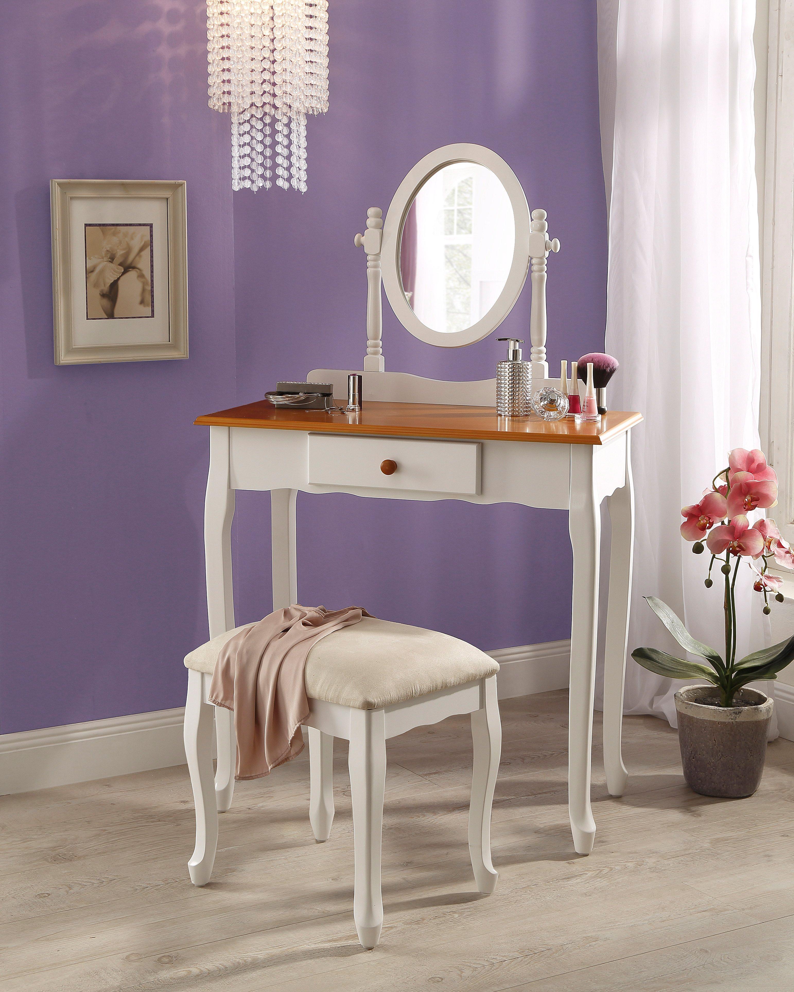 50 sparen schminktisch mit hocker nur 139 99 cherry m bel otto. Black Bedroom Furniture Sets. Home Design Ideas