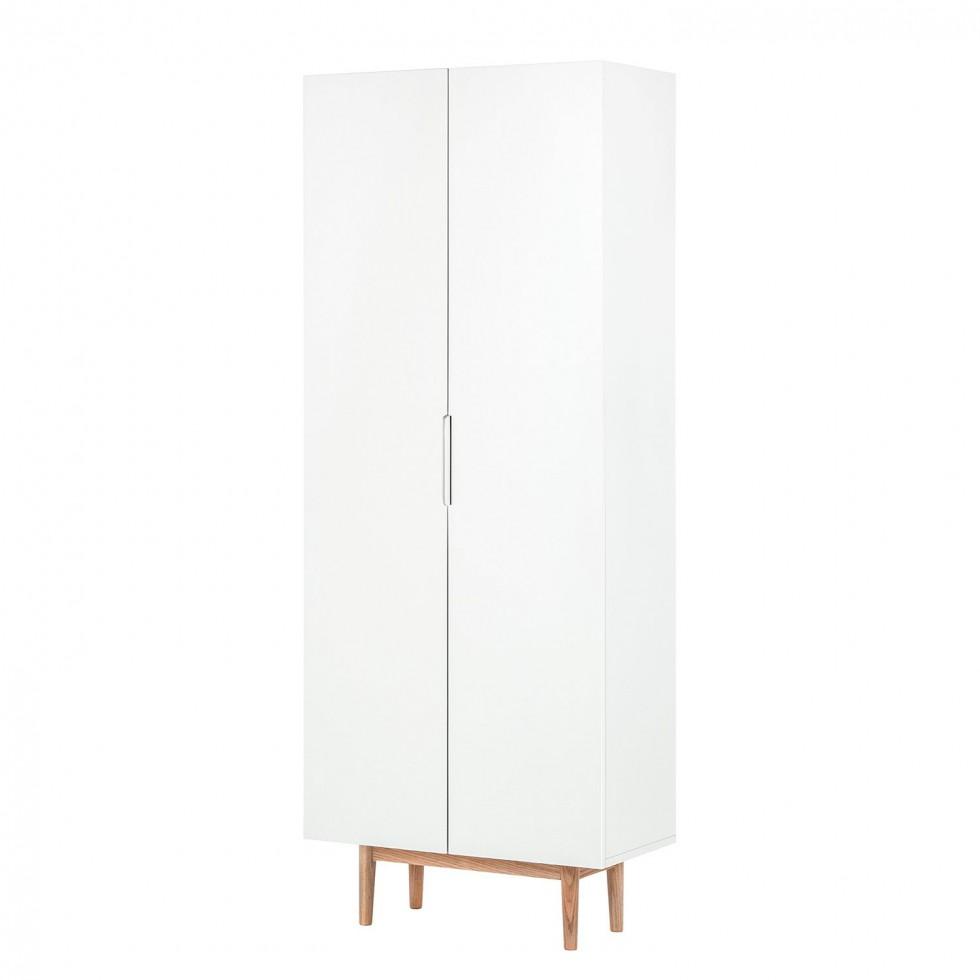 garderobenschrank lindholm von morteens in weiß zum schnäppchenpreis