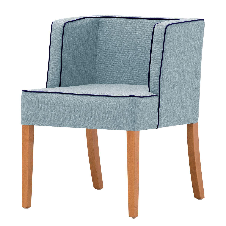 armlehnenstuhl ALIA von Studio Copenhagen in hellblau zum schnäppchenpreis