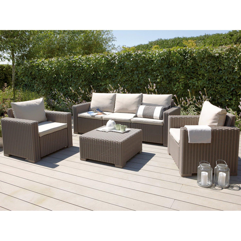 15% sparen - Gartenmöbel-Lounge MOMBASA - nur 503,35€ | Cherry Möbel