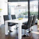 20% sparen – SALESFEVER Essgruppe LUKE mit 4 LIO Stühlen – nur 799,00€