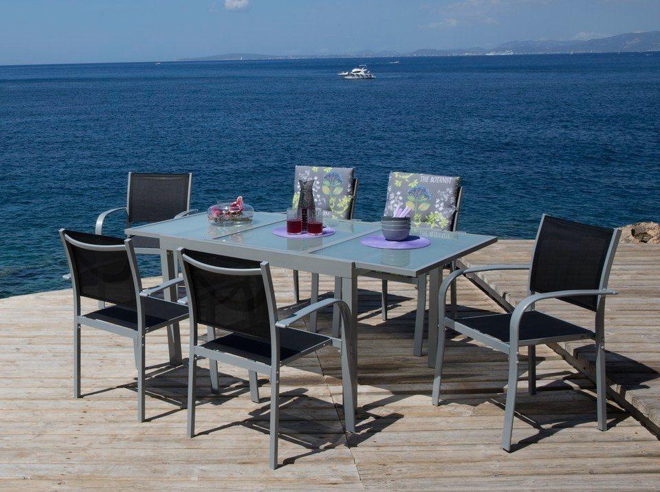 gartenmöbel-set lima 7-teilig zum schnäppchenpreis