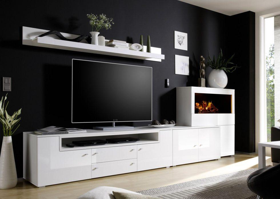 Olympo Kamin-Set weiß