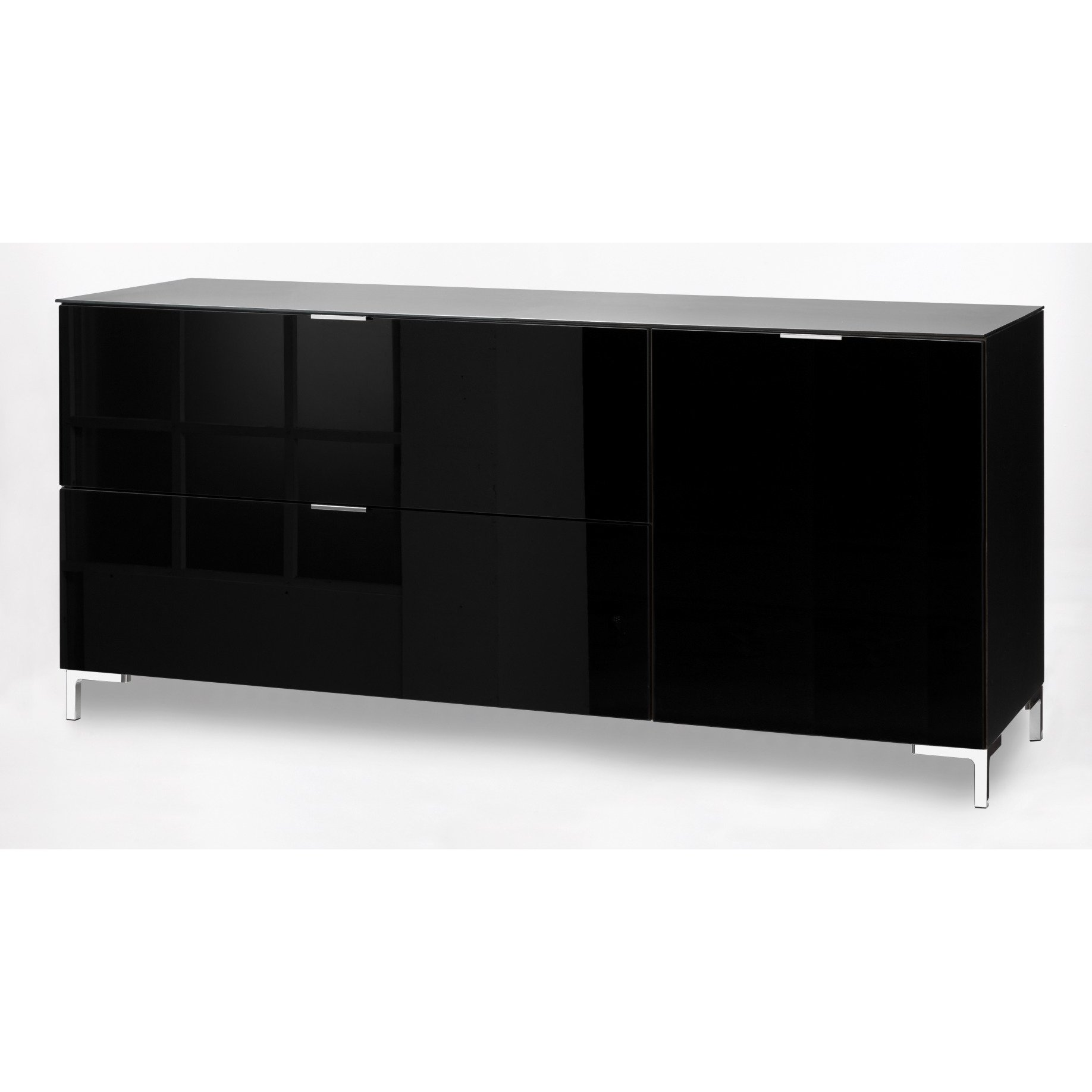 tv schrank in schwarz inspirierendes design f r wohnm bel. Black Bedroom Furniture Sets. Home Design Ideas