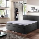 48% sparen – Novel Lederlook Boxspringbett Prinz Modern 120x200cm – nur 699€
