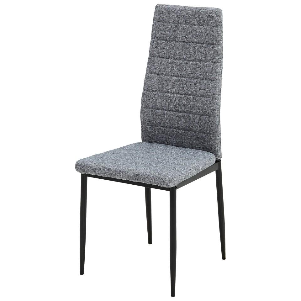 20 sparen stuhl lejre grau schwarz nur 19 95 cherry m bel d nisches bettenlager. Black Bedroom Furniture Sets. Home Design Ideas