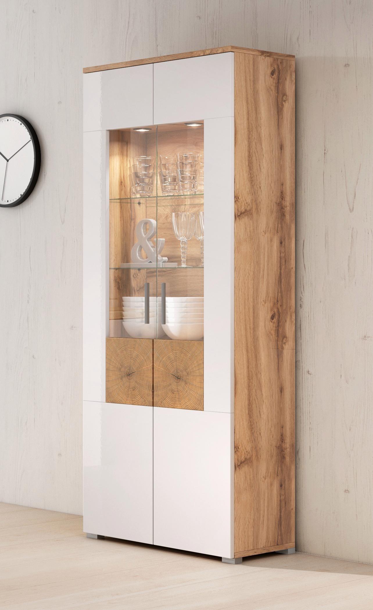 48 sparen vitrine wobona nur 169 99 cherry m bel. Black Bedroom Furniture Sets. Home Design Ideas