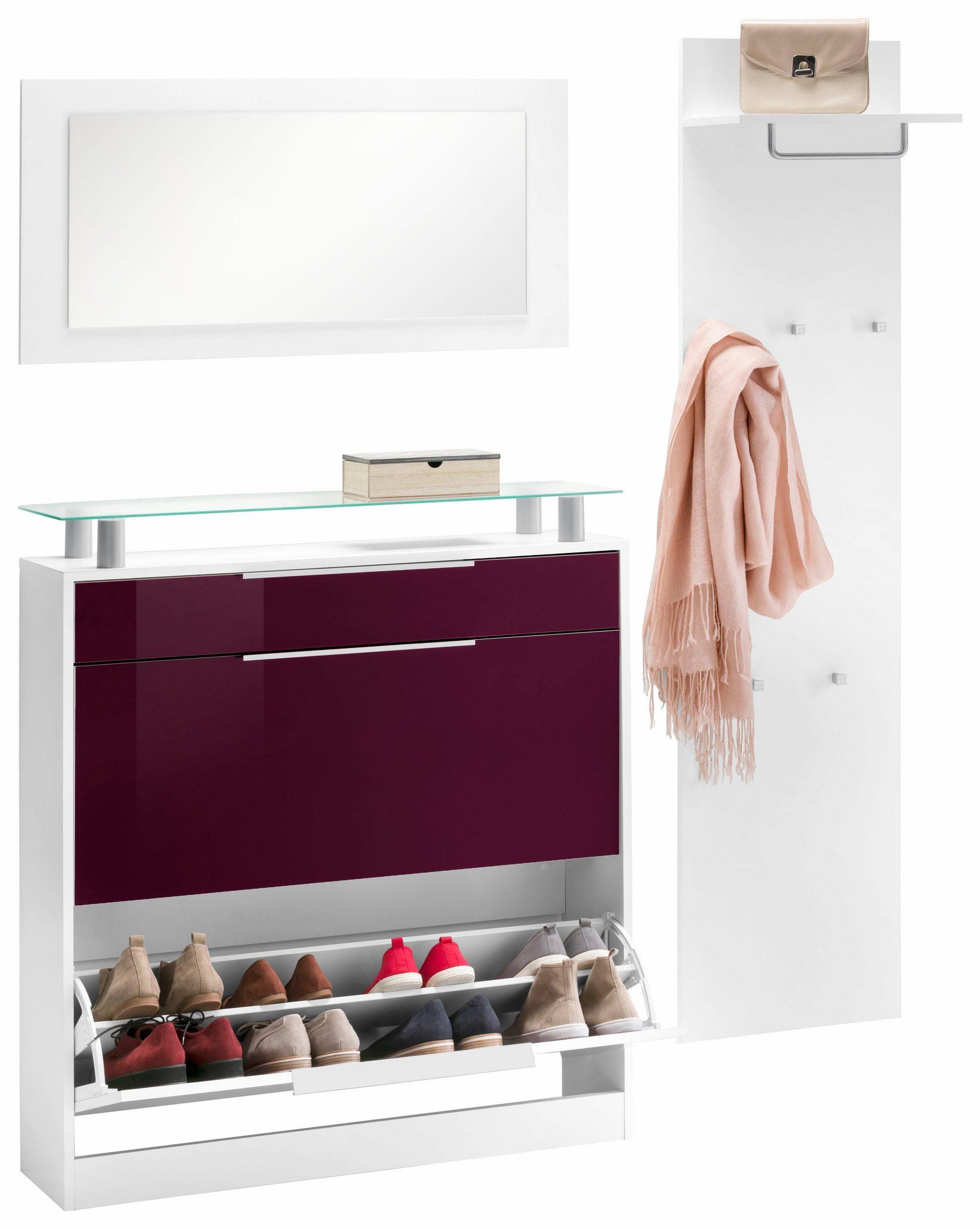 44 sparen garderoben set oliva 3 teilig ab 149 99 cherry m bel otto. Black Bedroom Furniture Sets. Home Design Ideas