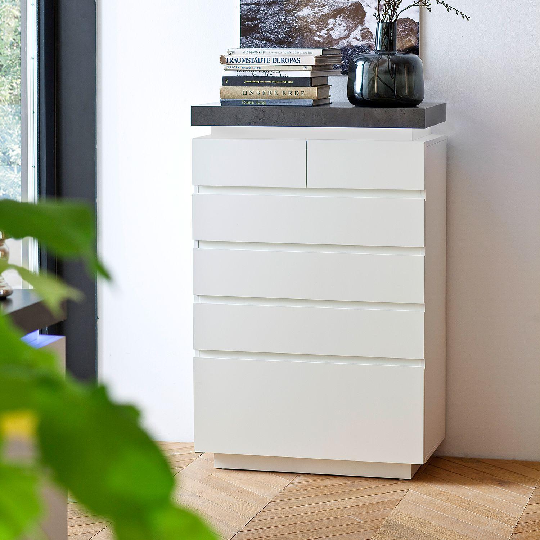 13 sparen kommode namona ii inkl beleuchtung nur. Black Bedroom Furniture Sets. Home Design Ideas