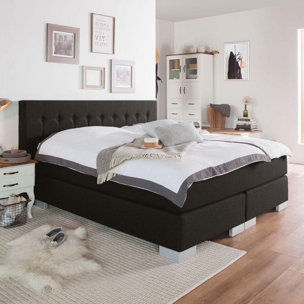 60 sparen boxspringbetten im angebot cherry m bel. Black Bedroom Furniture Sets. Home Design Ideas