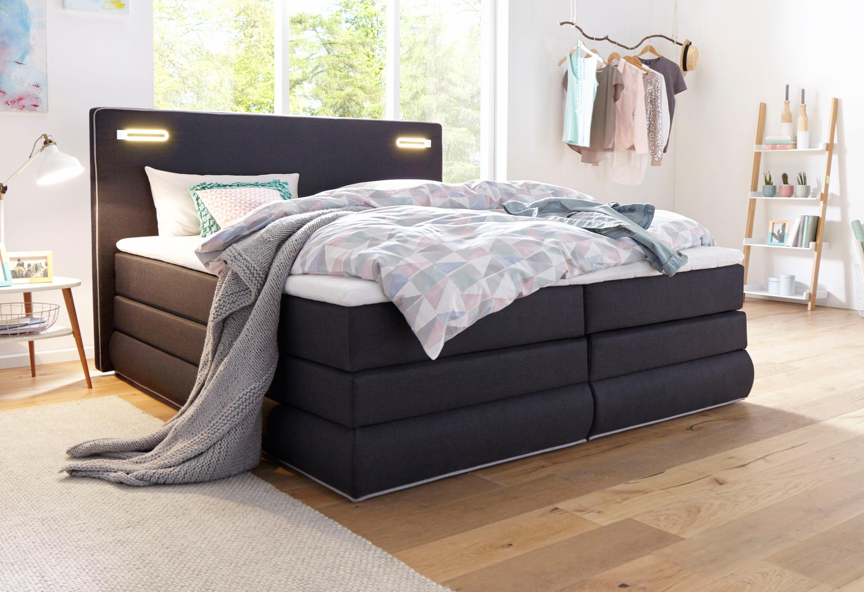 boxspringbetten 180x200 cm mit bettkasten im angebot cherry m bel home24 ikea otto. Black Bedroom Furniture Sets. Home Design Ideas