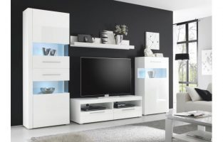 20 sparen wohnwand star nur 399 99 cherry m bel poco. Black Bedroom Furniture Sets. Home Design Ideas