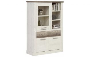 8 sparen highboardvitrine duro nur 219 99 cherry m bel poco. Black Bedroom Furniture Sets. Home Design Ideas