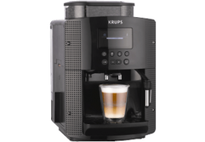 KRUPS EA 8150 Kaffeevollautomat Schwarz