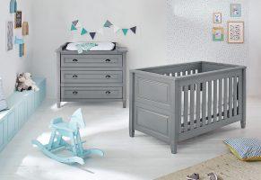 PINOLINO Babyzimmer Set (2-tlg) Sparset GRISU