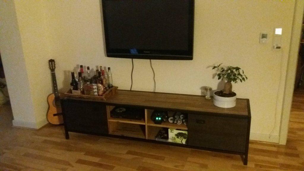 TV-Lowboard Soho Einrichtungsbeispiel