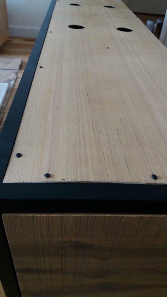 TV-Lowboard Soho Rückseite