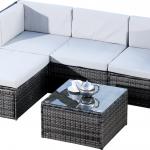 63% sparen – Hokku Designs Ecksofa-Set MILANO – nur 379,99€