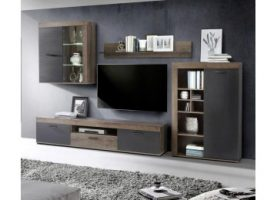 20 sparen wohnwand valentin nur 199 99 cherry m bel poco. Black Bedroom Furniture Sets. Home Design Ideas