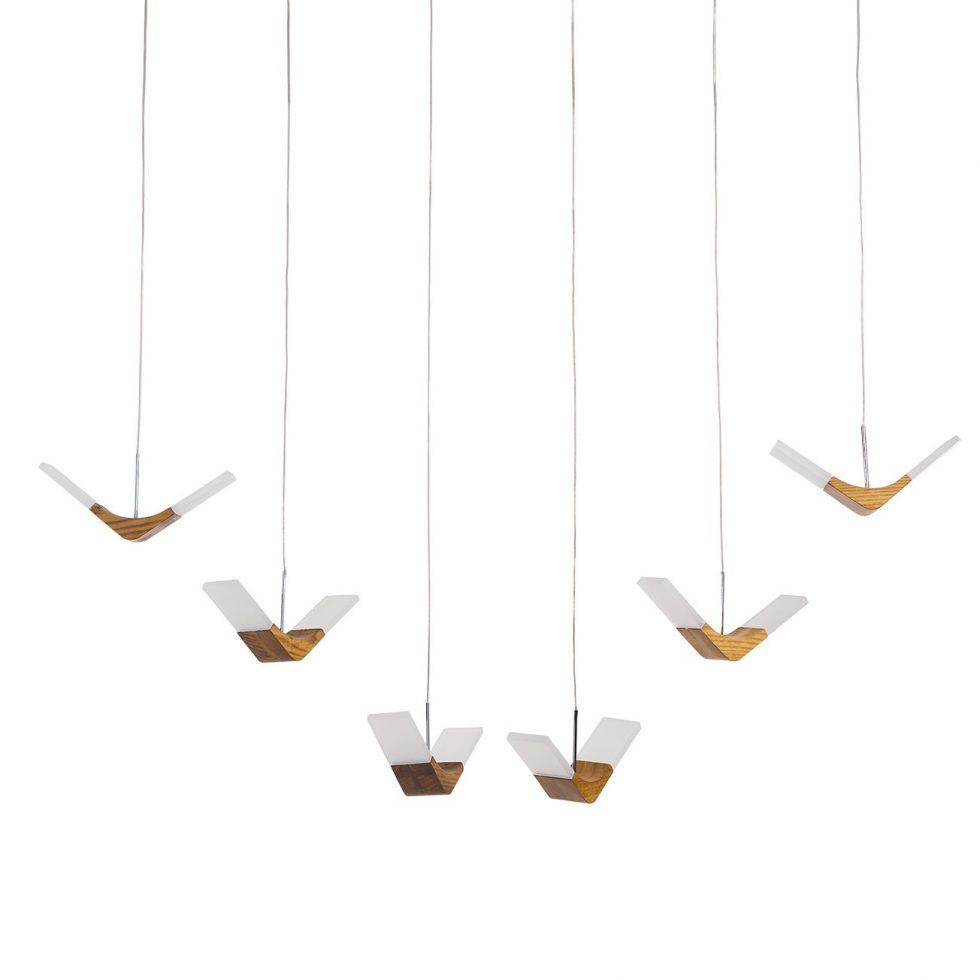 LED-Pendelleuchte Nufaru von LOISTAA