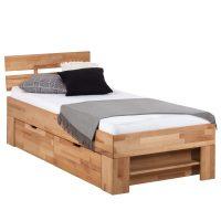 Massivholzbett EOSWOOD (inkl. Bettkästen) 90 x 200cm von ARS NATURA