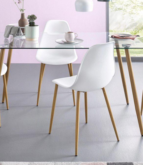 stühle, kunststoffschale (2stück) von miller