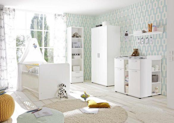 Kleiderschrank BIBO Weiß