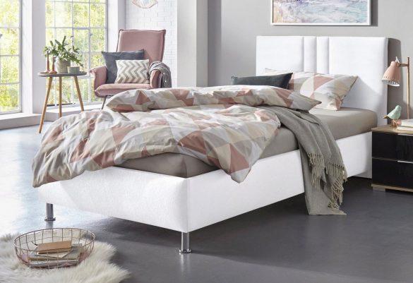 WESTFALIA Schlafkomfort Polsterbett ELBA wahlweise mit LED-Beleuchtung, in diversen Ausführungen