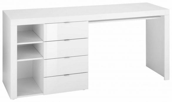 BORCHARDT Möbel Schreibtisch WIM mit 3 Fächern und 4 Schubkästen